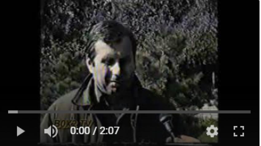Отрывок видеоматериала послевоенных годов об архивах Абхазии.
