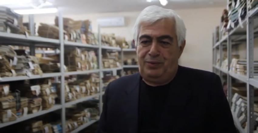 Видеоматериал Абаза ТВ об Архивном Управлении Республики Абхазия.
